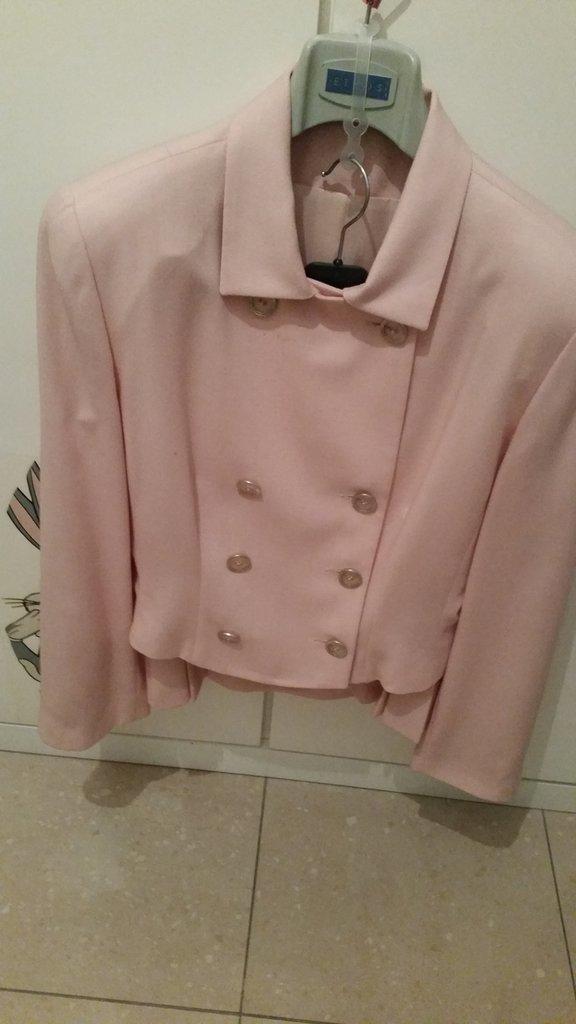 completo  vintage  due pezzi  color rosa