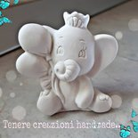Elefantino in polvere di ceramica