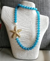 Collana di Angelite color azzurro