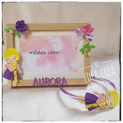 Cerchietto principessa Rapunzel