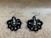 Orecchini in chiacchierino/ lace earrings