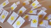 Bigliettini confetti comunione