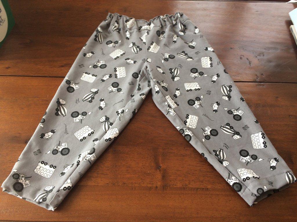 Pantaloni magic coton