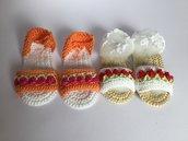 Sandali uncinetto estivi