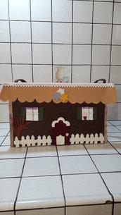 Borsa casa in feltro