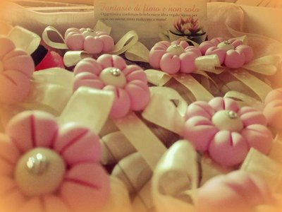 Confettate/bomboniere  con fiore