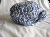Capello in lana sfumato