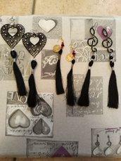 orecchini con nappe