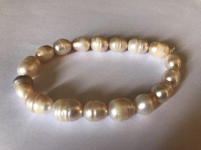 bracciale con perle di fiume