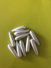 Perle lunghe 3cm