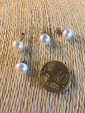 Orecchini Argento 925 con Perla Coltivata