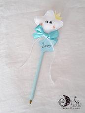 bomboniera bacchetta magica stellina Il Principe penne battesmo nascita primo compleanno