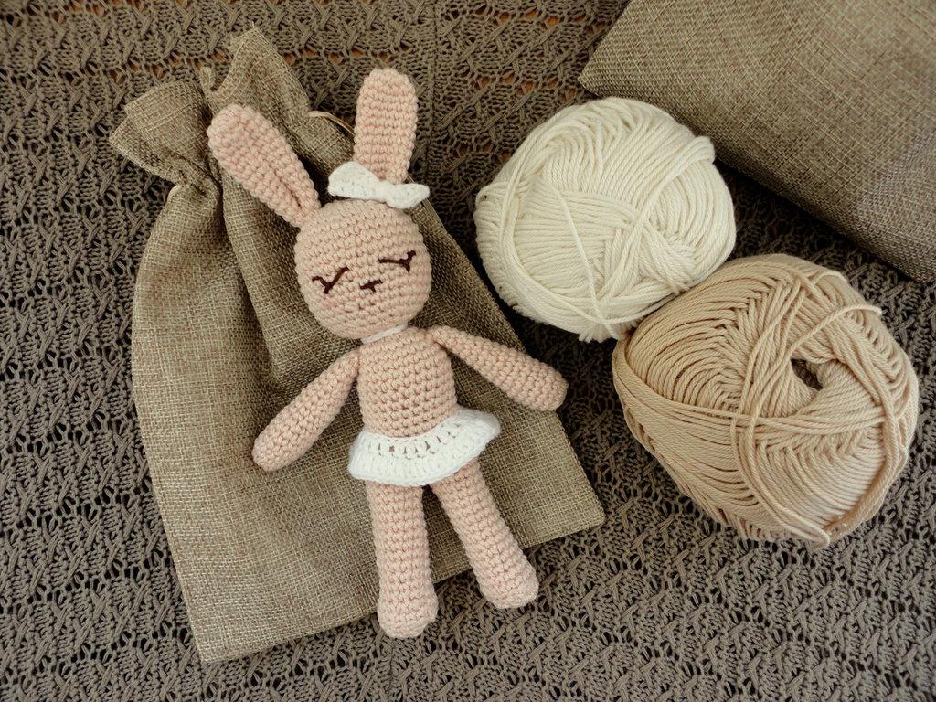 coniglietto amigurumi- regalo nascita