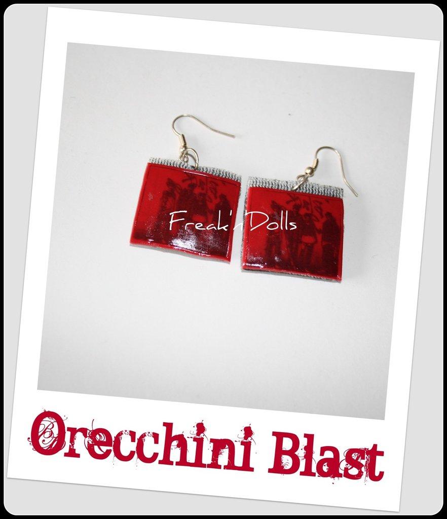 Orecchini Blast