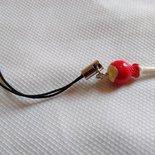 Laccetto per chiavetta USB o cellulare con pendente a forma di lecca lecca