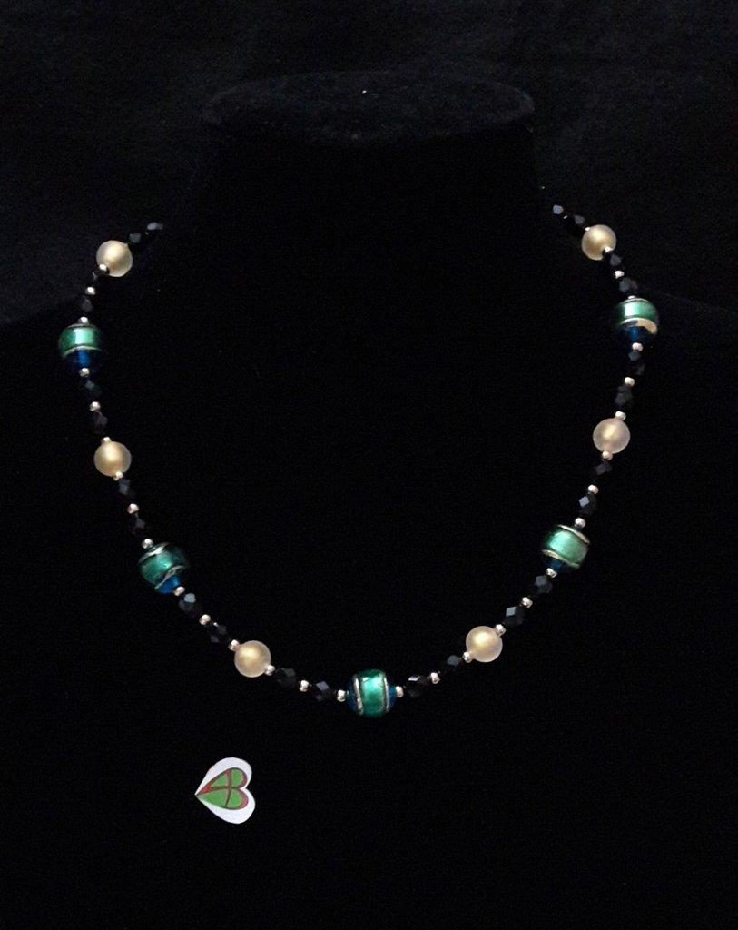 Collana di Murano - Smeraldo