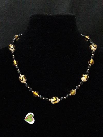 Collana di Murano - Tigre Oro