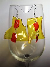 La vela gialla e rossa