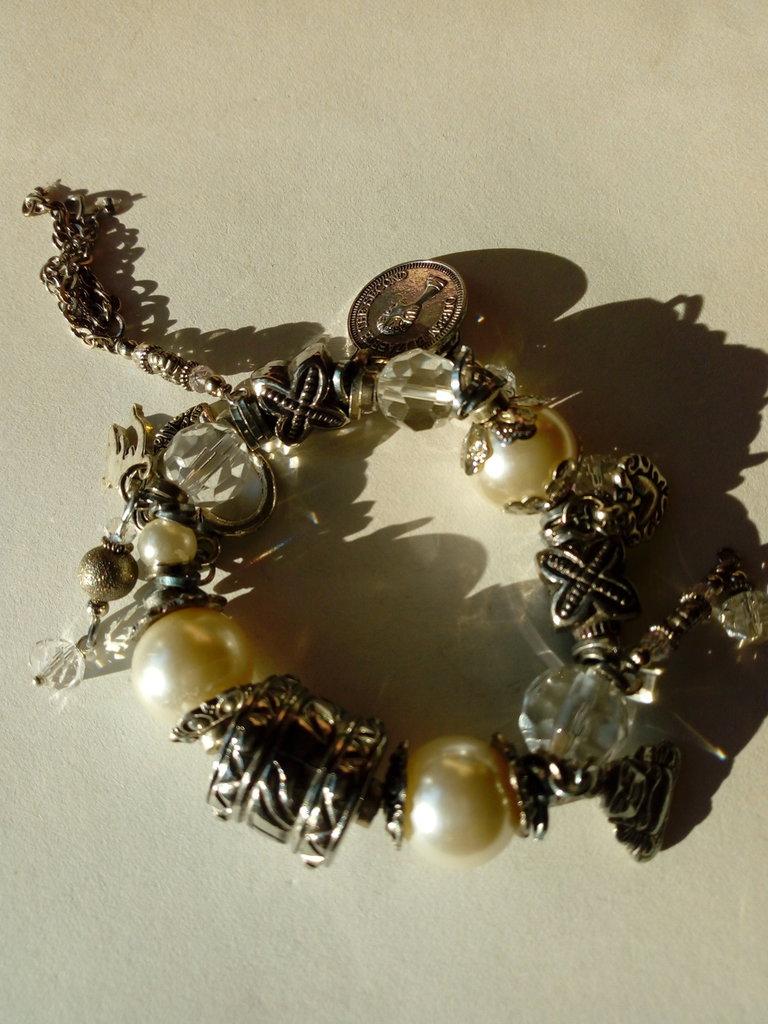 Braccialetto perle vetro
