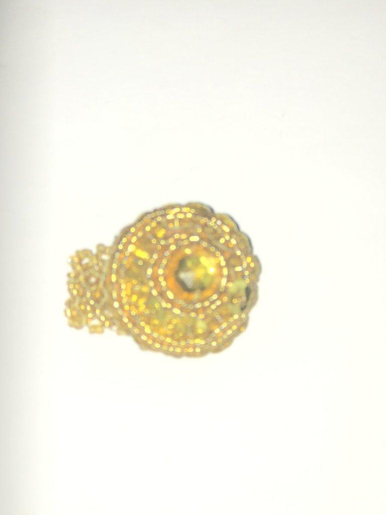 anello con perline