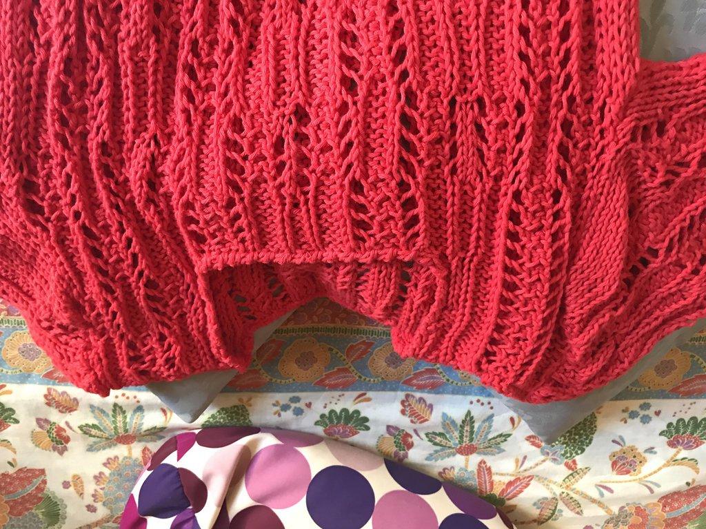 maglione color aragosta
