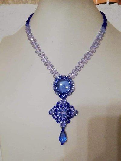 Collana Blu Sirena