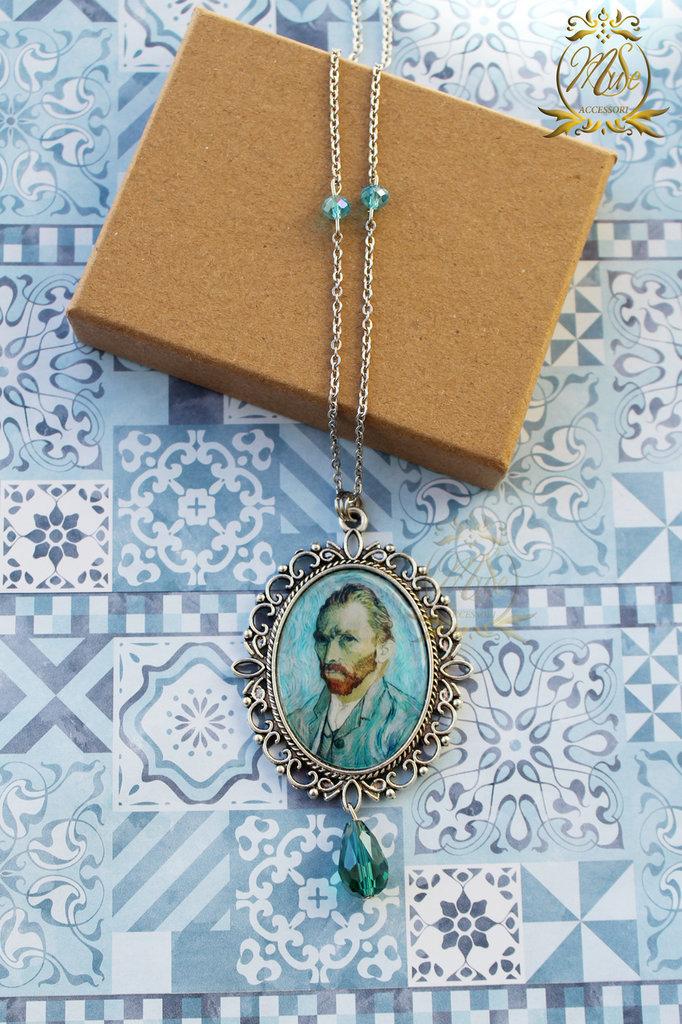 Collana Van Gogh, Autoritratto, collana cammeo, collana artisti