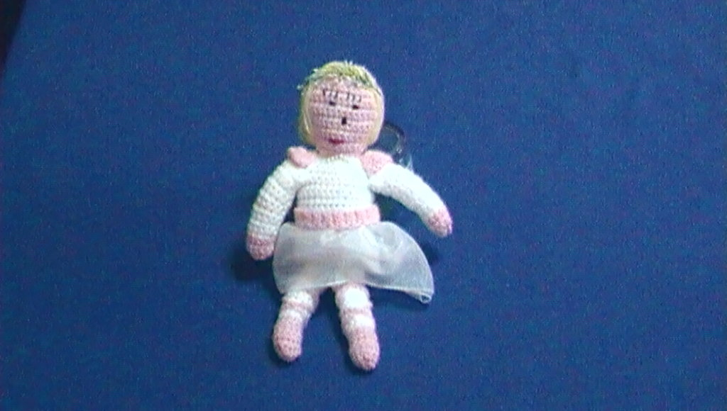 bambola in lana