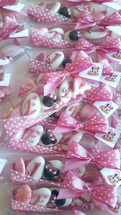Topolino - Minnie - Confettata minnie - festa tema topolino - confettata topolino - bomboniere topolino - bomboniere minnie