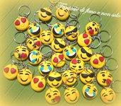 ciondoli emoticon realizzati a mano