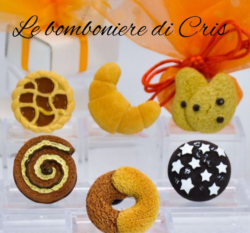 Calamite biscotti in resina
