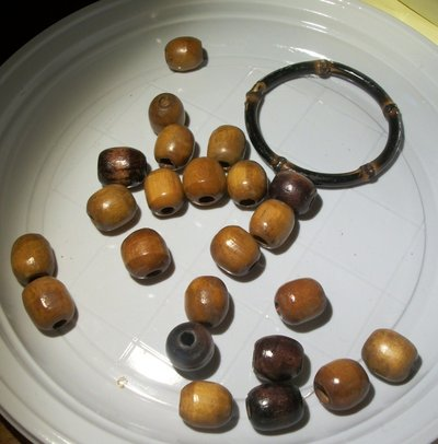 24 perle mste in legno