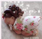 Bomboniere nascita bebè, confettata nascita