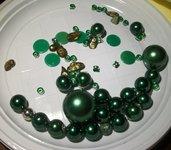 68 perle miste in plastica