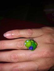 Anello tartarughe colorate