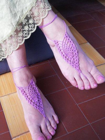 Barefoot sandals piedi nudi