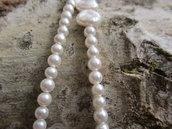 collana lunga perle di fiume