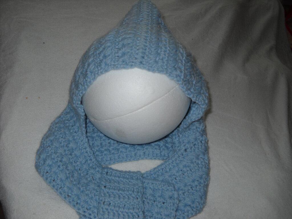 Cappello sciarpa bimbo