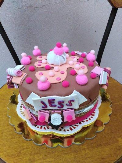 La torta porta bijoux