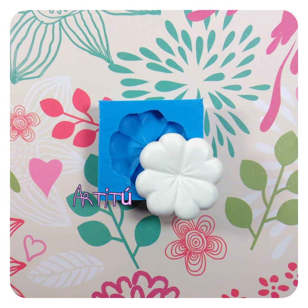 Stampo in silicone quadrifoglio 3,4x3,4cm originale handmade - quatrefoil mold per gesso, resina per bomboniere e decorazioni stampo in silicone