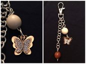 Portachiavi Farfalla - Butterfly