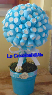 *Albero decorativo marshmallow*