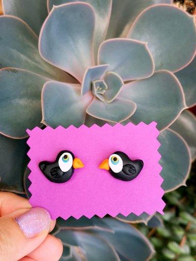 Orecchini da lobo con tucano in fimo, gioielli cactus per regalo bambina, gioielli esotici, orecchini tropicali per l'estate, regalo tucano