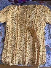 maglia fatta ad uncinetto