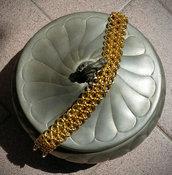 Bracciale Japanese Chainmaille stile Hana Gusari