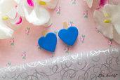 Bomboniere Segnaposto semplici e d'effetto cuore blu, adatti per ogni occasione.