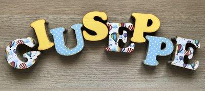 Lettere 3D Giuseppe