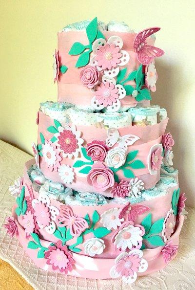 Inserzione privata torta pannolini