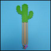 Segnalibro Cactus by 3P Creazioni
