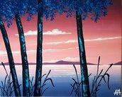 Dipinto su tela paesaggio